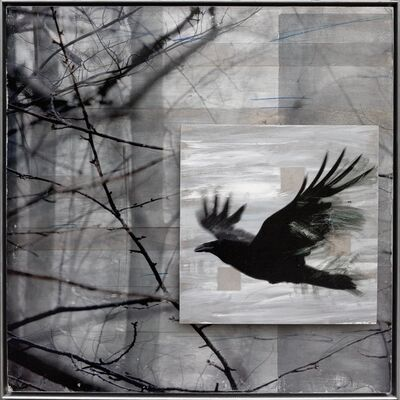 Ken Girardini, 'Raven Sings of Trees'