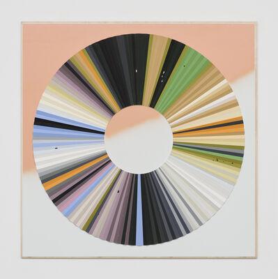 Jay Gard, 'Farbkreis Gabriele (Gabriele Münter, Herbstliches Blumenstillleben, Rückseite)', 2019