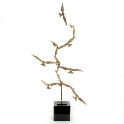 Ian Pollock, 'Golden Birds Of The Soul IV', 2019