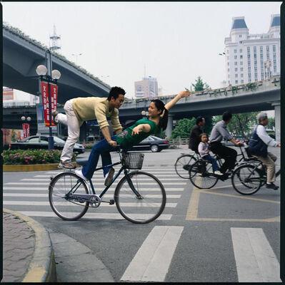 Yang Zhenzhong, 'Cycle Aerobics (level 2)-1(8pcs) 自行车保健操Ⅱ-1(共8件)', 2005