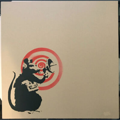 Banksy, 'Radar Rat (Dirty Funker LP)', 2008