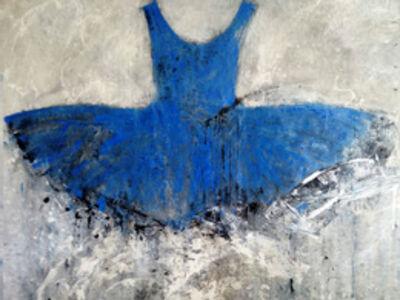 Ewa Bathelier, 'Blue Dress', 2016