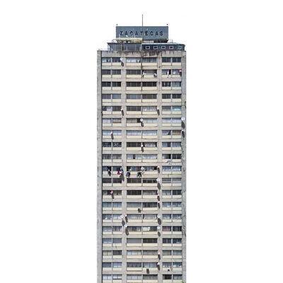 Adam Wiseman, 'Edificio Zacatecas. Ciudad de México', 2017