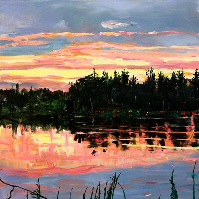 Rebecca Perehudoff, 'Orange Sunset', 2019