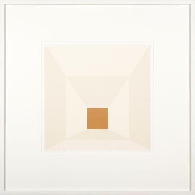 Josef Albers, 'Mitered Square Mahogany', 1976