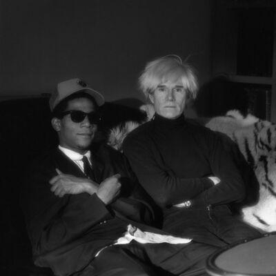 Jeannette Montgomery Barron, 'Basquiat & Warhol, NYC', 1985