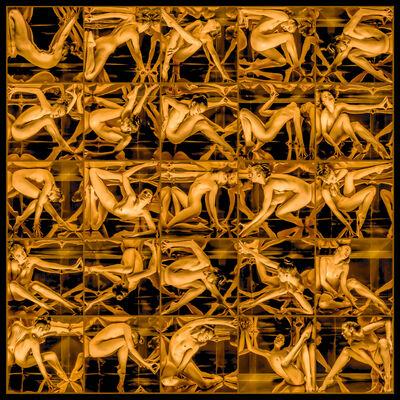 Jeff Robb, 'Mirror 1 (gold)', 2020