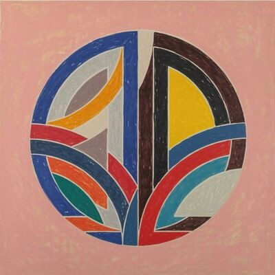 Frank Stella, 'Sinjerli Variation Squared with Colored Ground III', 1981