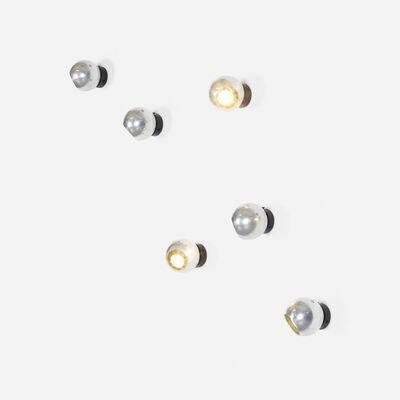 Gino Sarfatti, 'wall lights model 586/s, set of six', 1962