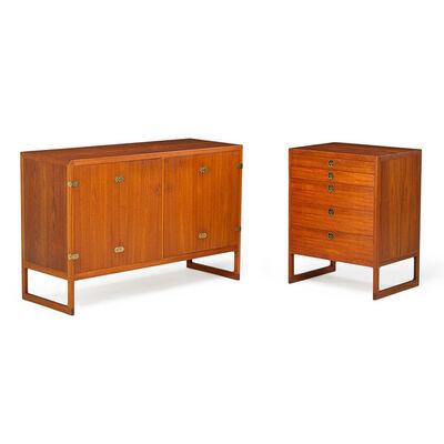 Börge Mogensen, 'Two cabinets, Denmark', 1950s