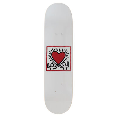 Keith Haring, 'Untitled (Heart) Skateboard Deck', 2019