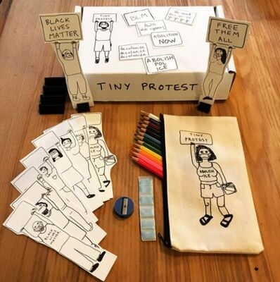 Sara Zielinski, 'Tiny Protest Box', 2021