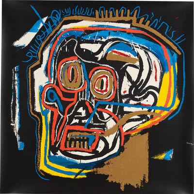 After Jean-Michel Basquiat, 'Head'