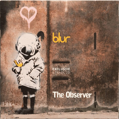Banksy, 'Blur -  Exclusive 5 Track CD', 2003