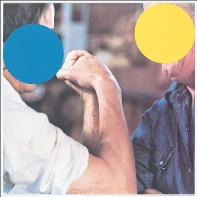 John Baldessari, 'Two Opponents: Blue and Yellow', 2004
