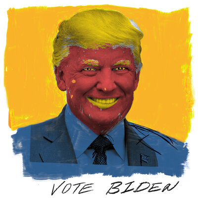 Dread Scott, 'Vote Biden', 2020