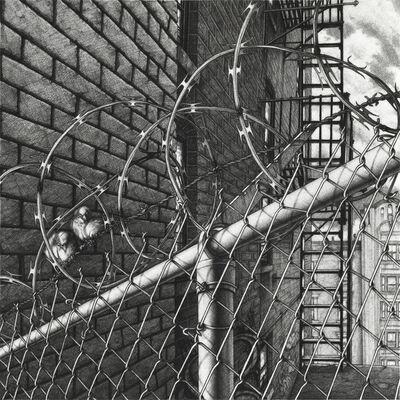 Chris Weller, 'Razor Wire', 2018