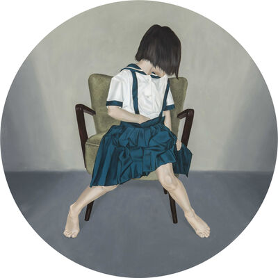 Yih-Han Wu, 'Girl in the chair', 2015