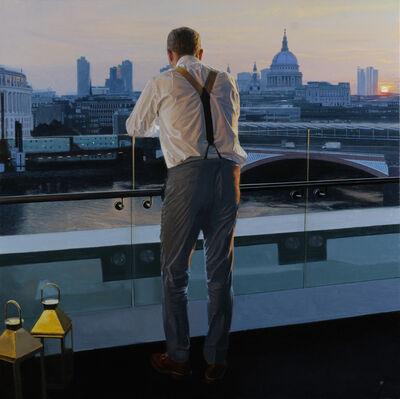 Iain Faulkner, 'Sunrise Blackfriars Bridge, 2018'