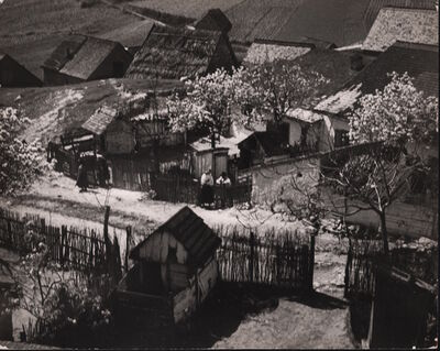 André Kertész, 'Hungarian village', 1919