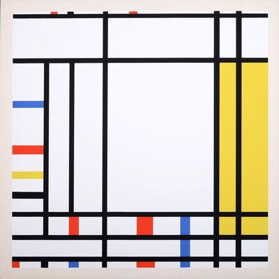 Piet Mondrian, 'Place de la Concorde', 1967