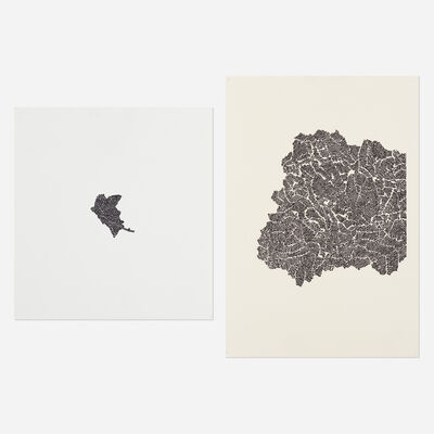 Bruce Conner, '#112, #110', 1970-1971