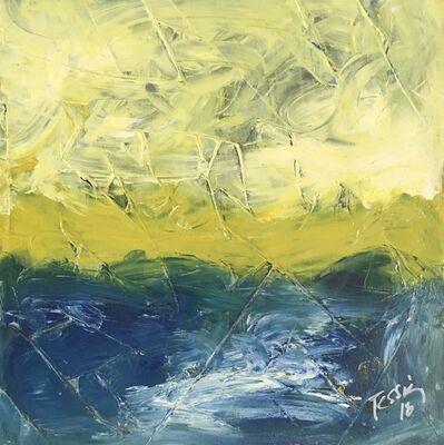 Stephen Tessier, 'Yellow Sky above the Lake', 2018