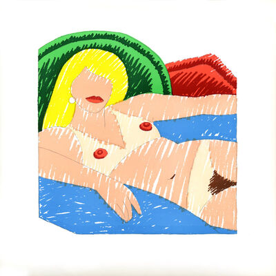Tom Wesselmann, 'Shiny Nude', 1977