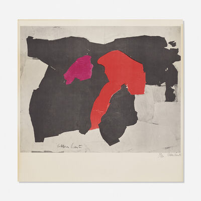 Esteban Vicente, 'Untitled', 1962