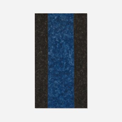 Howard Mehring, 'Black and Blue', 1963