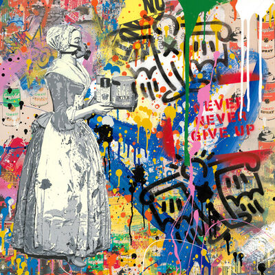 Mr. Brainwash, 'Chocolate Vandal', 2019