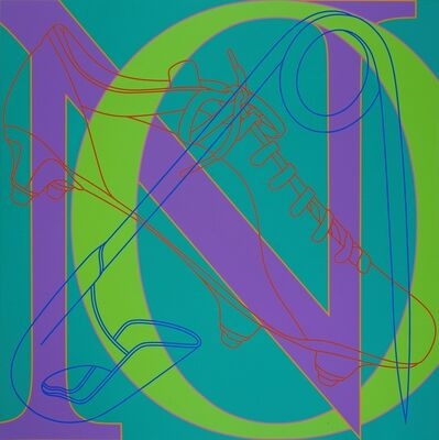 Michael Craig-Martin, 'Untitled (NO)', 2007