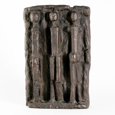 Fritz Wotruba, 'Relief with Three Figures', 1957