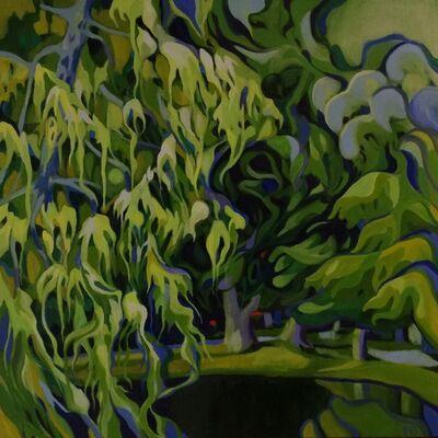 Patty Bryant, 'Serenity in Green, Retiro Park Madrid', 2020