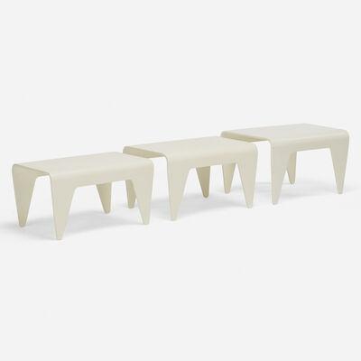 Marcel Breuer, 'Nesting tables, set of three', 1936