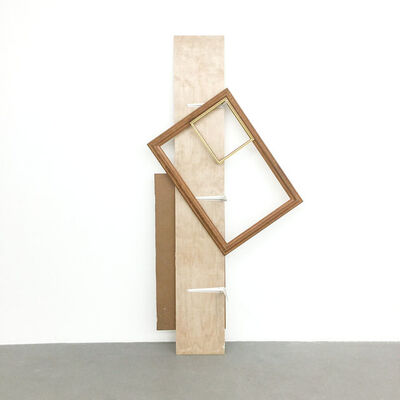 Leyden Rodriguez-Casanova, 'A Shelf Supporting Two Frames', 2017
