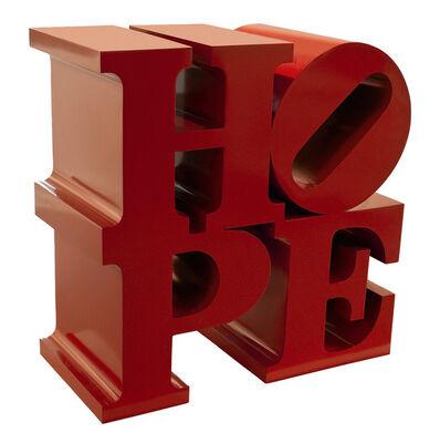 Robert Indiana, 'HOPE (Red)', 2009