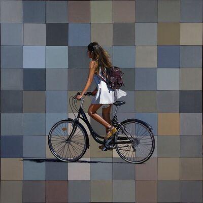 Jeff Cohen, 'Dona Amb Bicicleta', 2017