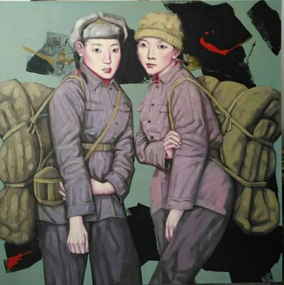 Liu Chun Hai, 'Chinese Visual Series - Growing up in the Rainstorm ll 中国图式系列之《成长在风雨中》之二 ', 2016