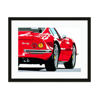 Joel Clark, 'Speed Icons Ferrari Dino 246GT | Automotive | Car', 2013-2015