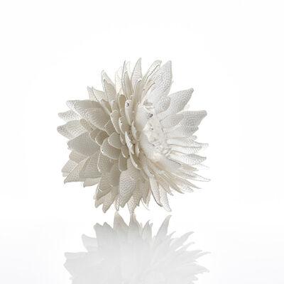 Junko Mori, 'Silver Organism; Dotty Leaf', 2017