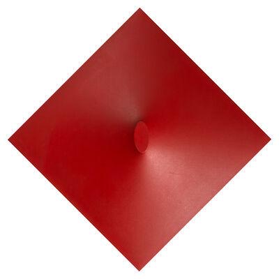 Turi Simeti, 'Un Ovale Rosso', 1967