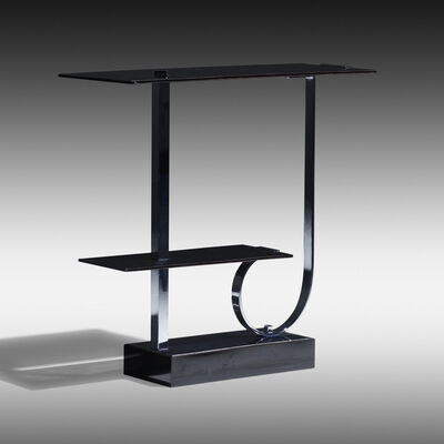Walter Von Nessen, 'Rare tiered console table, model 438', c. 1929