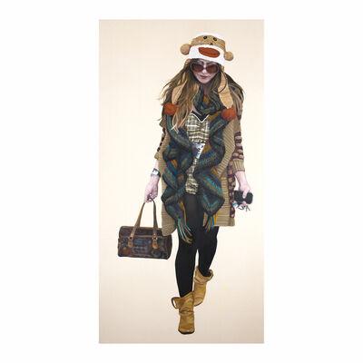 Courtney Miles, 'Courtney Walking - Monkey Hat', 2007