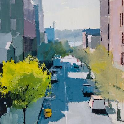 Lisa Breslow, 'High Line Looking West', 2018
