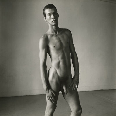 Peter Hujar, 'Bruce de Saint Croix', 1976