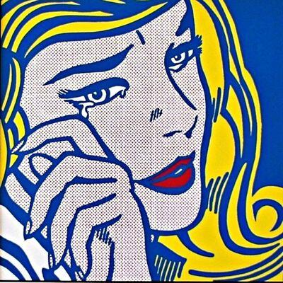 Roy Lichtenstein, 'Crying Girl 1964 for Art Basel', 1987