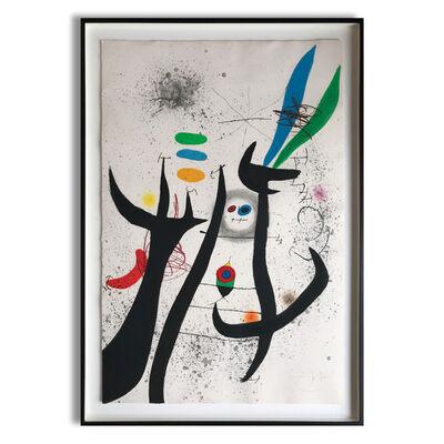 Joan Miró, 'La Femme Arborescente', 1974