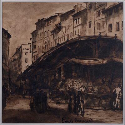 Émile Bernard, 'Marseille, Marché dans le vieux port, ', ca. 1920