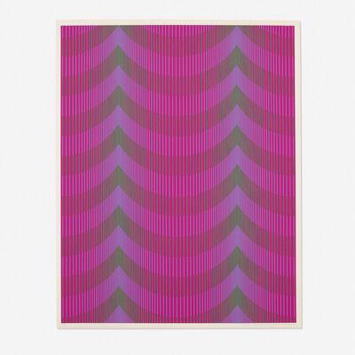 Julian Stanczak, 'Veiled', 1972